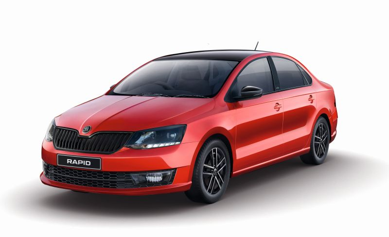 Škoda Rapid Monte Carlo Launched In India
