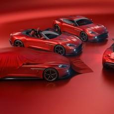 Aston Martin Vanquish Zagato Quartet Unveiled