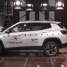 Jeep Compass Scores Five Stars in Euro NCAP
