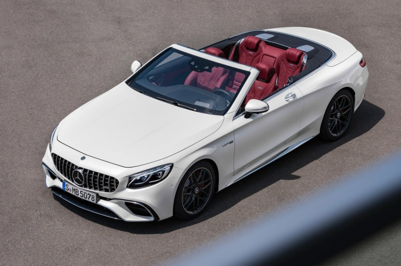 Mercedes-AMG S 63 Cabriolet 2018 web