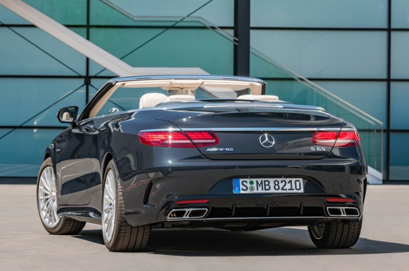 Mercedes-AMG S 65 Cabriolet 2018 web