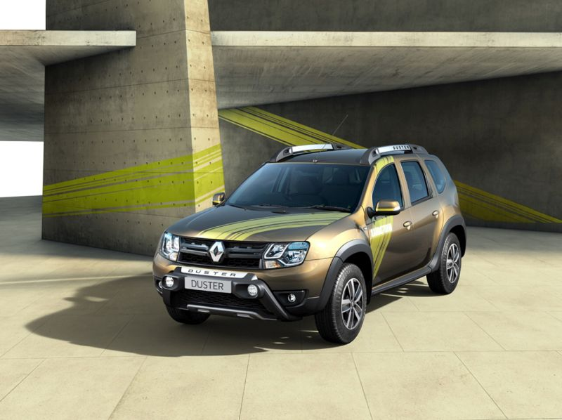 Special Edition Renault Duster Sandstorm Launched