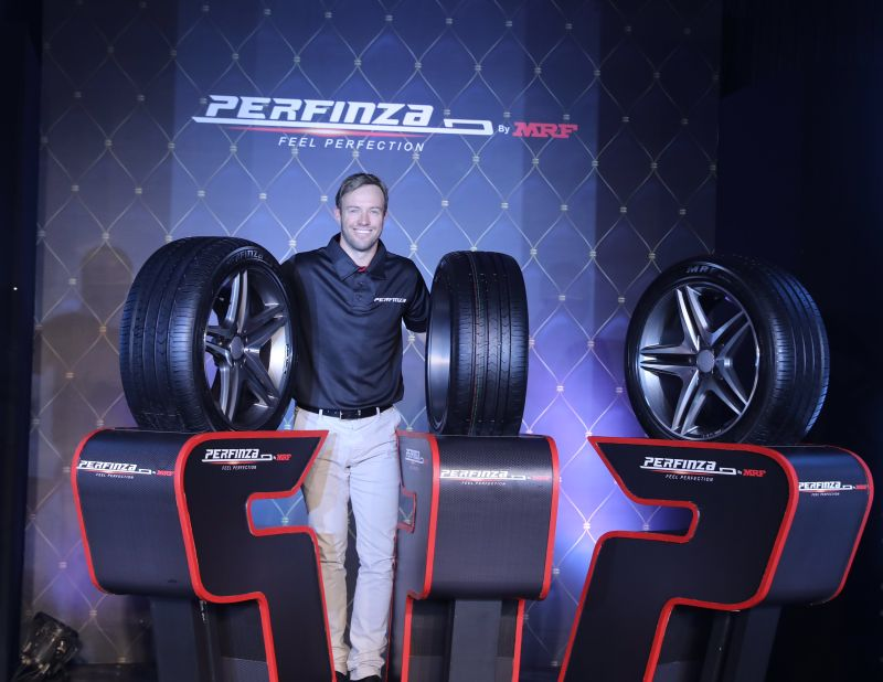 MRF introduce premium Perfinza tyres for luxury cars