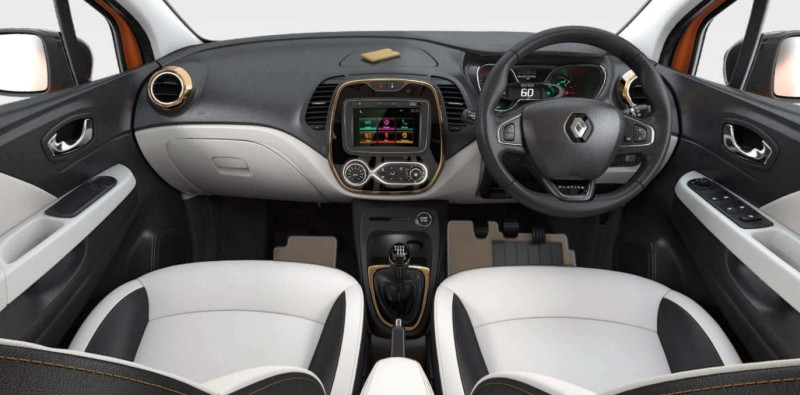 Renault Captur Interior web