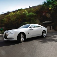 Rolls-Royce Wraith First Drive Review – Wraith of the Titans
