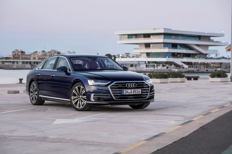 2018 Audi A8 first drive Spain