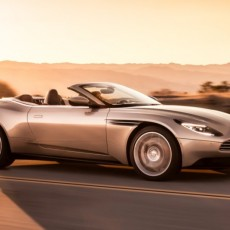 Aston Martin DB11 Volante Arrives