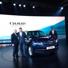 Škoda Kodiaq Launched