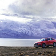 Audi Q3 to the Leh