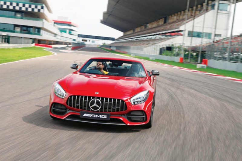 Mercedes-AMG GT Roadster On Track 1 web