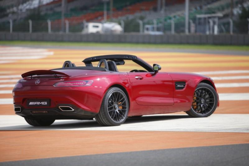 Mercedes-AMG GT Roadster On Track 6 web