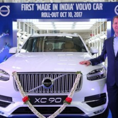 First Made-in-India Volvo XC90 Rolls Out in Bengaluru