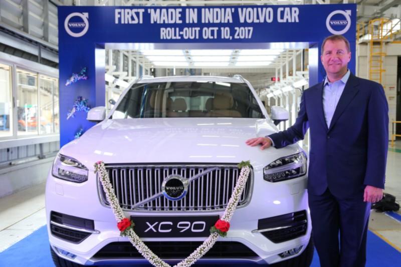 Volvo XC90 India web