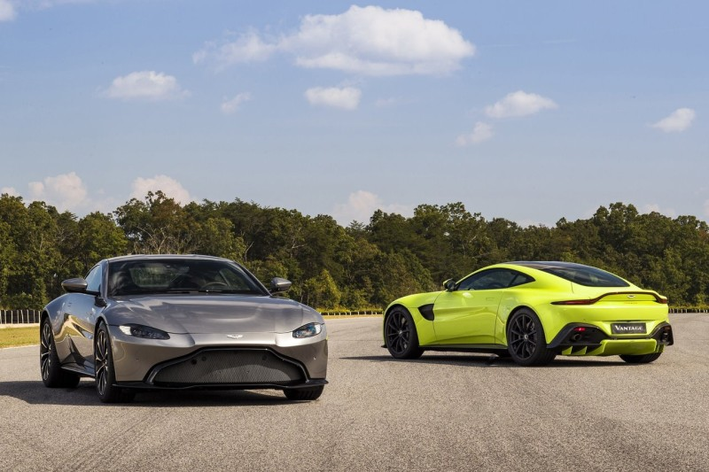 New Aston Martin Vantage And Gte Racecar Revealed Car India