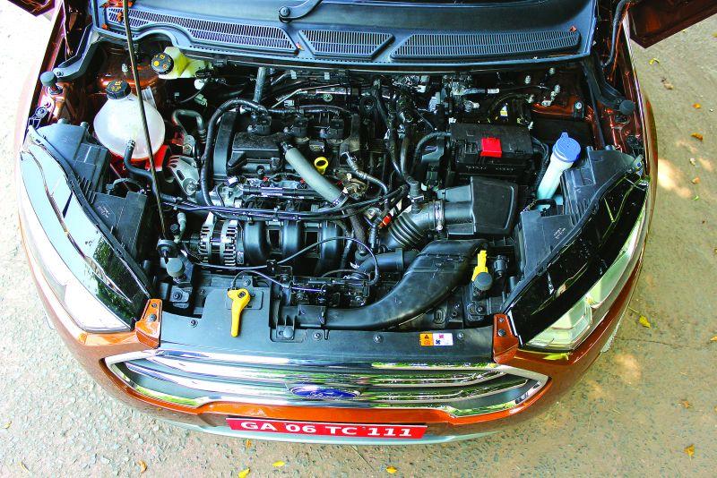 Ford EcoSport - Engine