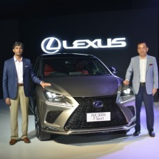 Lexus NX 300h Launched