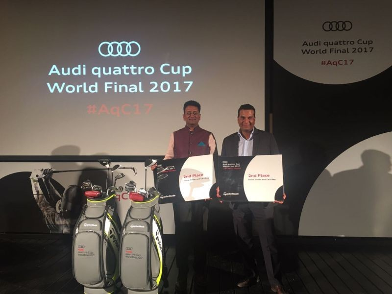 Team India bags second place at the world finals of the Audi quattro Cup golf tournament