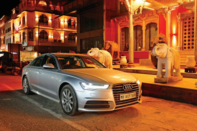 Driving the Audi A6 from Jaipur to Pune-M18