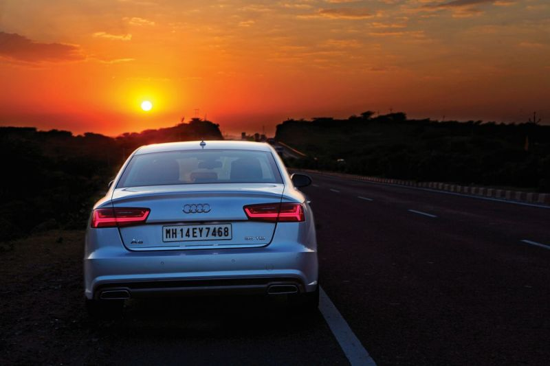 Driving the Audi A6 from Jaipur to Pune-M20
