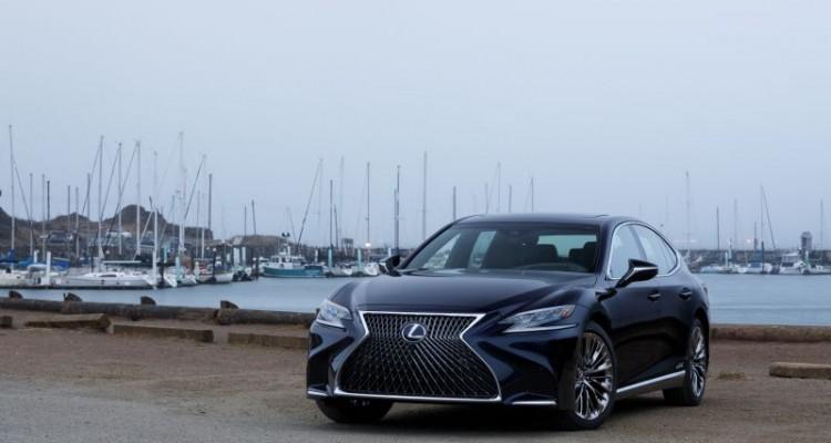 Lexus LS 500h Coming Soon