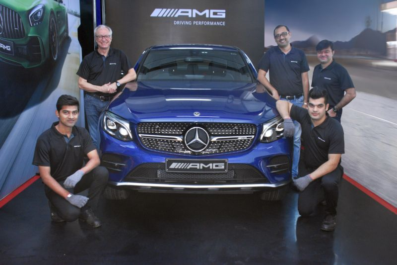 Mercedes-Benz introduce AMG Pit stop service in India