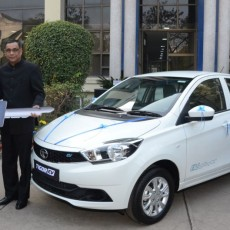 Tata Motors Deliver First Batch Of Tigor Electric Vehicles
