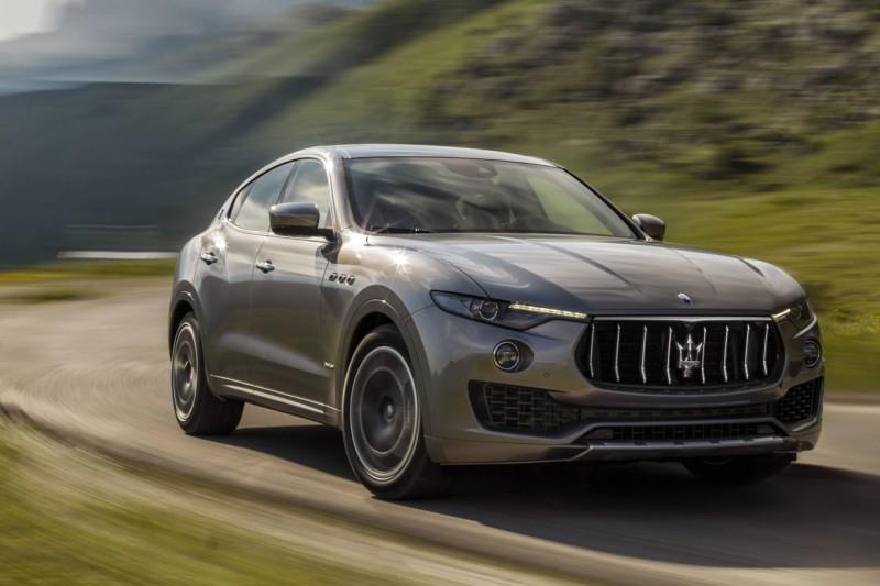 Maserati Levante Diesel India web 1