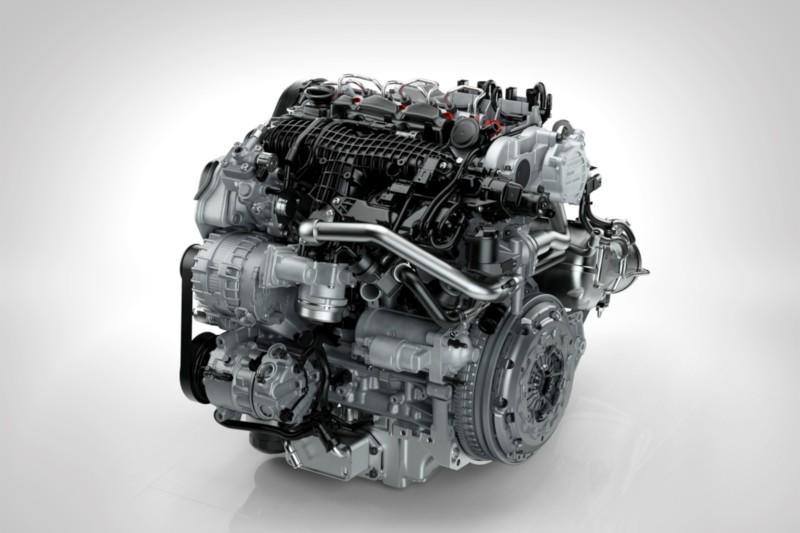 Drive-E 4 cylinder Diesel Engine - D4 Front