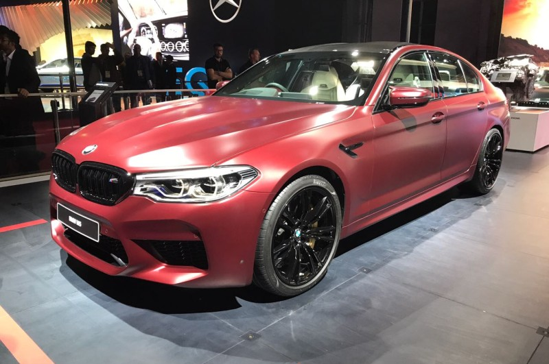 Auto Expo BMW M5 web