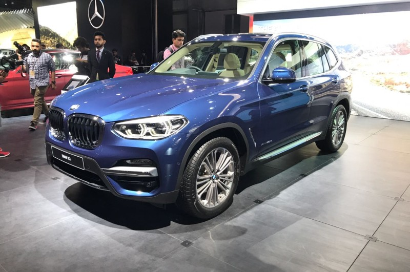 Auto Expo BMW X3 web
