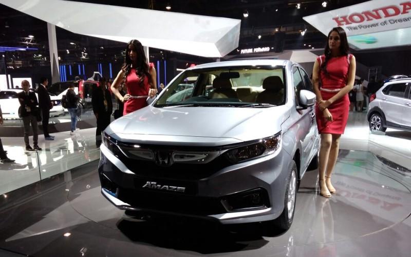Honda Amaze Auto Expo 2018 web