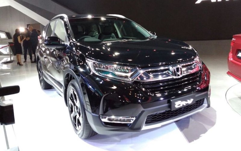 Honda CR-V Auto Expo 2018 web