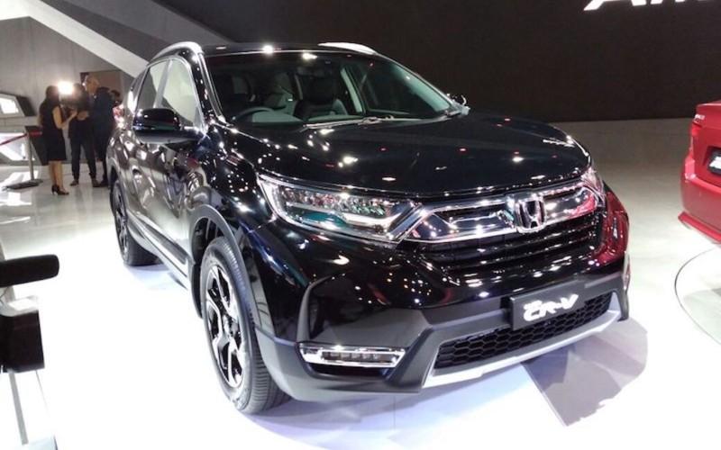 Honda CR-V Auto Expo 2018 web