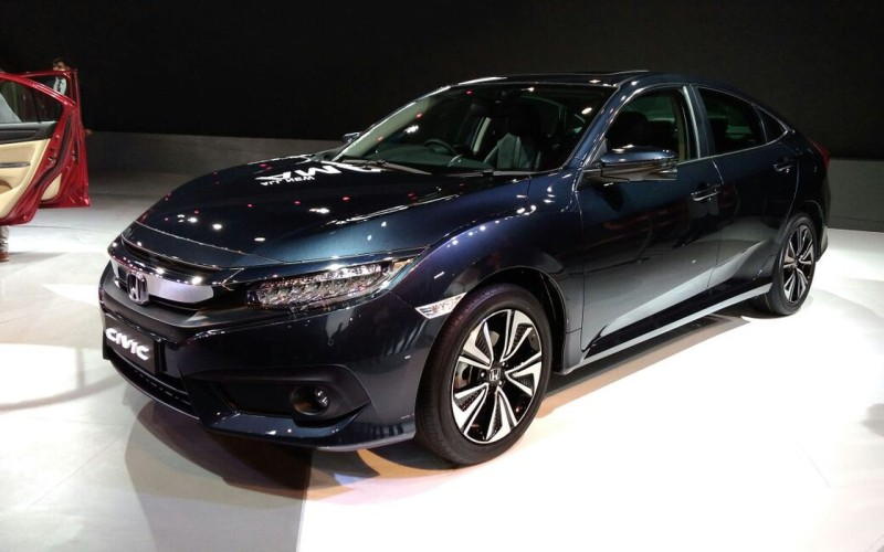 Honda Civic Auto Expo 2018 web