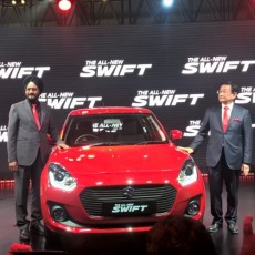 #AutoExpo2018 New Maruti Suzuki Swift Launched
