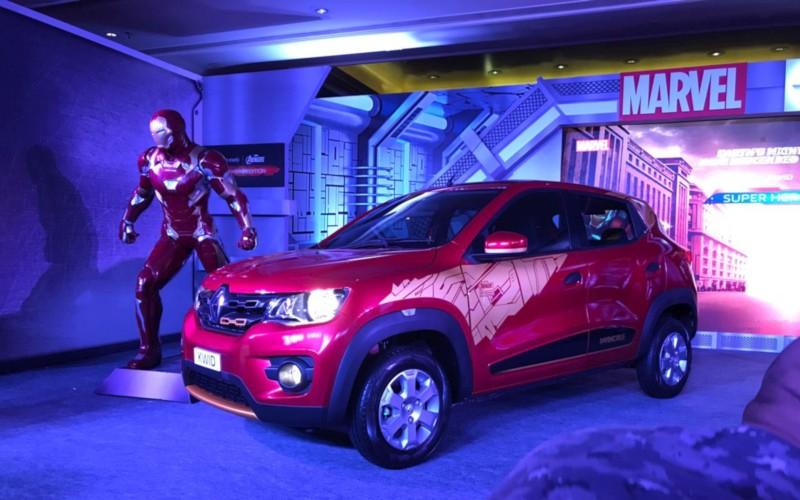 Renault Super Hero Edition Kwid Iron Man web