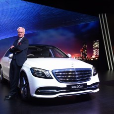 Mercedes-Benz Launch Made In India S-Class