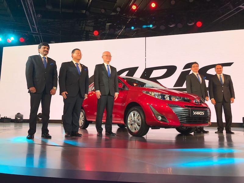 Toyota Yaris unveil web