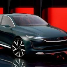 Tata Showcase InnoVision E-Vision concept at Geneva Motor Show