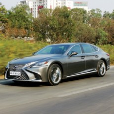 Lexus LS 500h Road Test Review – Not Just Another Shade Of Grey