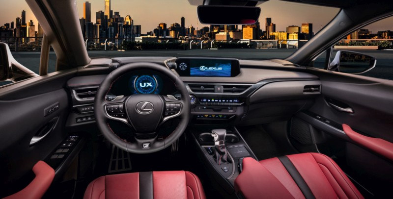 Lexus UX 2 web