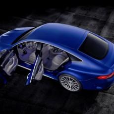 Mercedes-AMG GT 63 S 4MATIC+ 4-Türer Coupé, AMG Silver-Chrome Paket, Exterieur: Außenfarbe: Brilliantblau magno;Kraftstoffverbrauch kombiniert: 11,2 l/100 km; CO2-Emissionen kombiniert: 256 g/km* (vorläufige Daten)  Mercedes-AMG GT 63 S 4MATIC+ 4-Door Coupé, AMG Silver-chrome packet, Exterior: Exterior paint: brilliant blue magno;Fuel consumption combined: 11.2  l/100 km; CO2 emissions combined: 256 g/km* (provisional data)