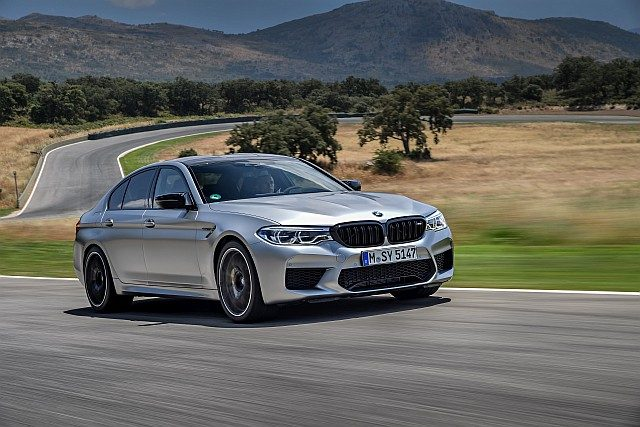01 Image - The new BMW M5 Competition WEB