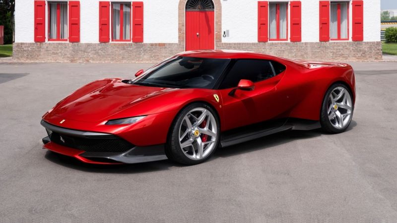 Ferrari Special Projects Division SP38 to be delivered