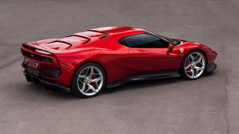 We look at Ferrari's special division SP38.