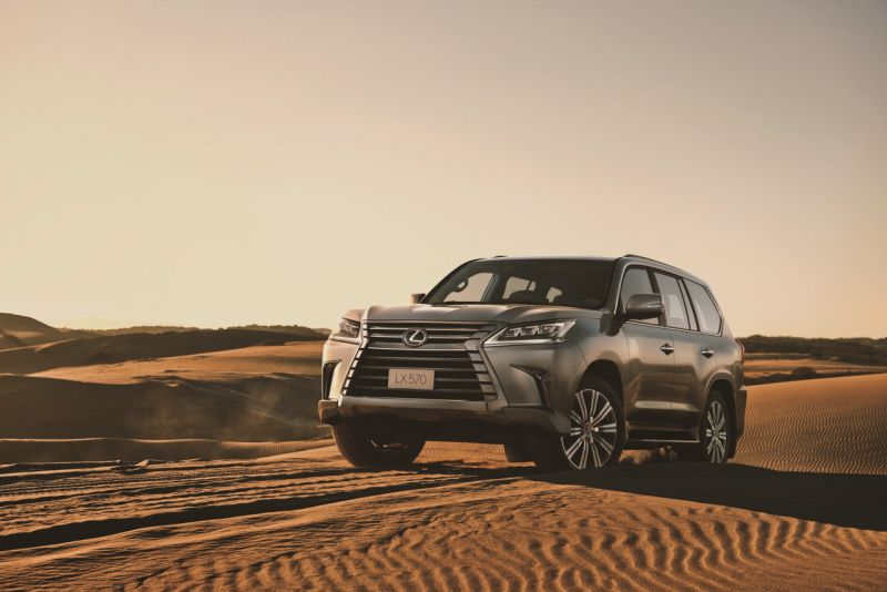 Lexus LX 570 Launched in India