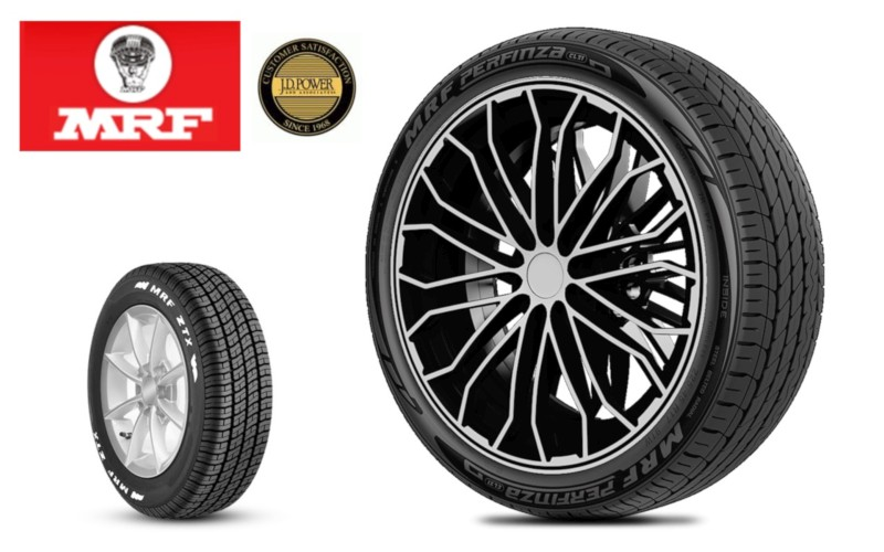 MRF Ltd tyre manufaturers rated highest in two segments for Compact SUV's and Sedans by J D Power Study