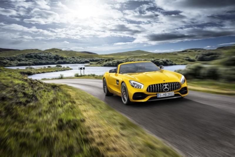 Mercedes-AMG GT S Roadster: Open-Air-Zuwachs für die AMG GT Familie