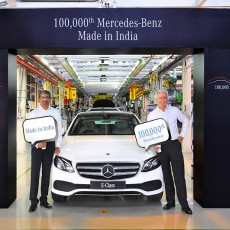 Mercedes-Benz Rolls Out 100,000th Car in India