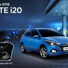 2018 Hyundai Elite i20 CVT Launched